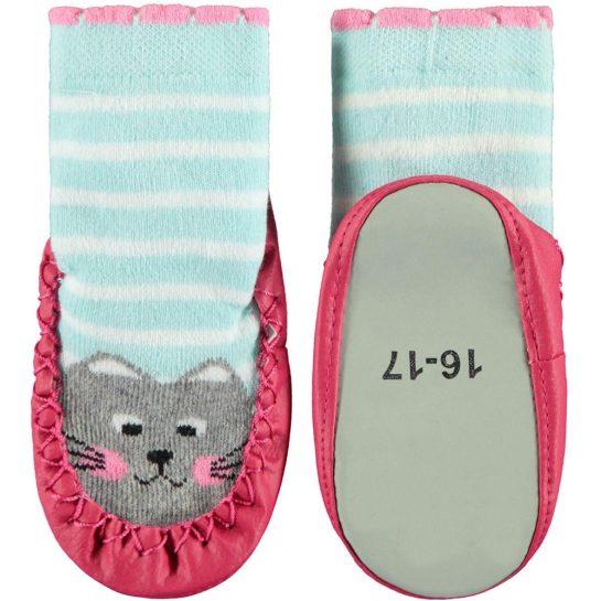 Cicás bőrtalpú zokni