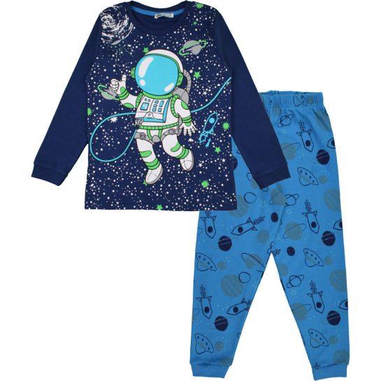 Űrhajós-kék pizsama
