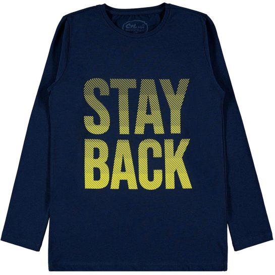 Stay back kék felső