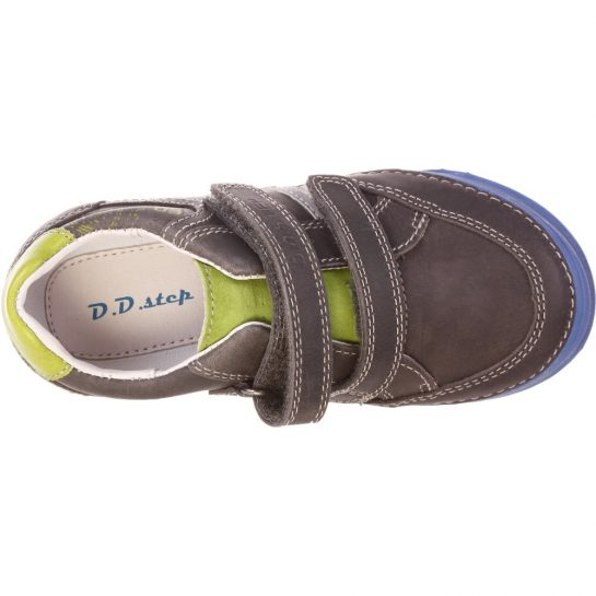 Szürke-zöld-kék cipő