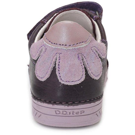 Virágos padlizsán cipő