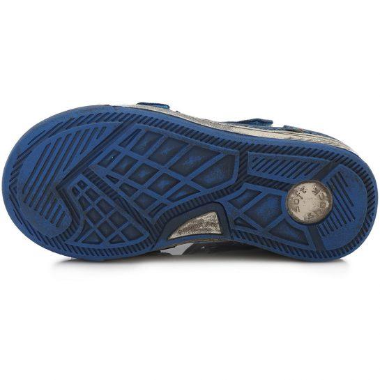 Kék-szürke félcipő