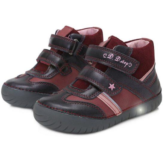 Szilva LED fényű cipő