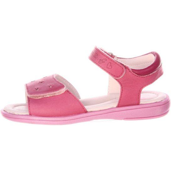 Csillagos rózsaszín szandál
