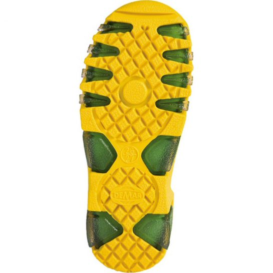 Bélelt krokodil gumicsizma