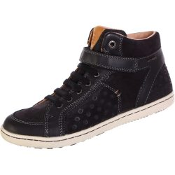 Fekete pöttyös cipő