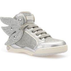 Ezüst-szárnyas cipő