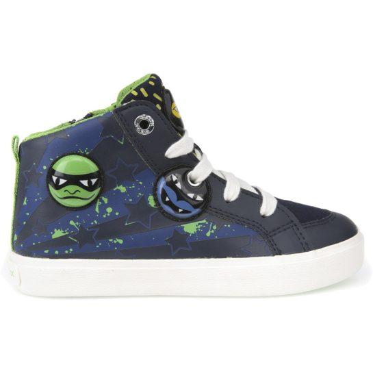 Ninja kék-zöld cipő