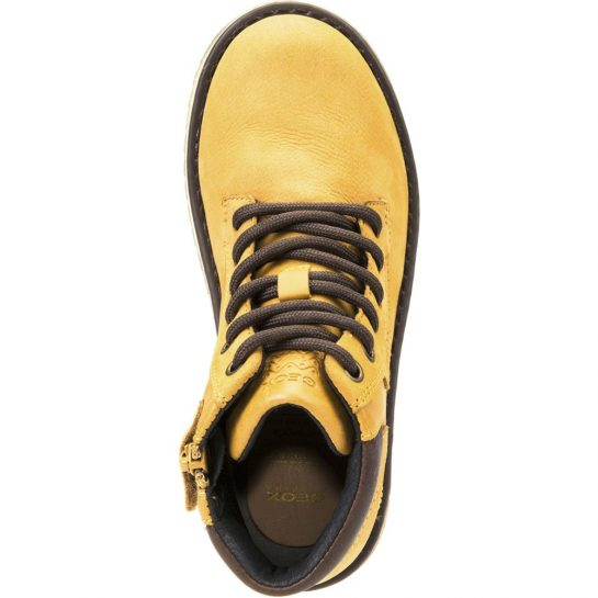 Mustársárga cipő