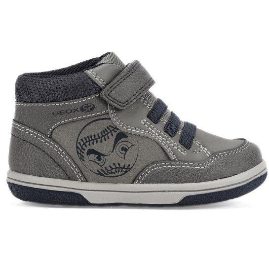Szürke-kék cipő