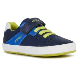 Kék-lime cipő