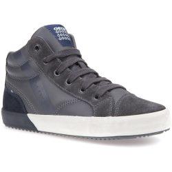 Grafit-sötétkék cipő