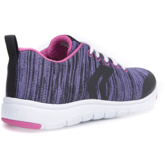 Lila-fekete könnyű sportcipő