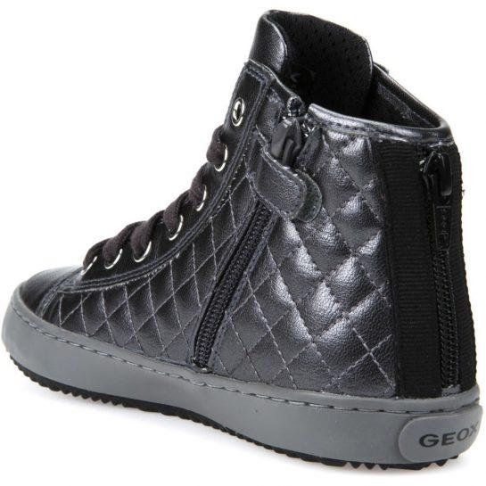 Grafit steppelt cipő