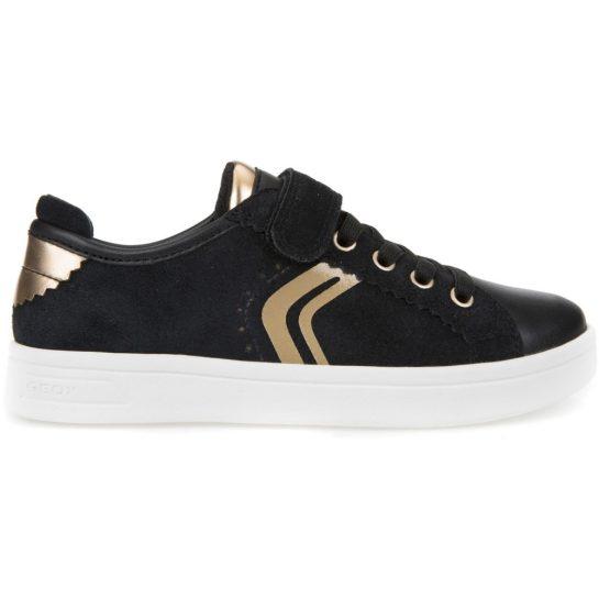 Fekete-arany cipő