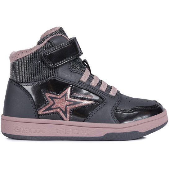 Csillagos szürke cipő