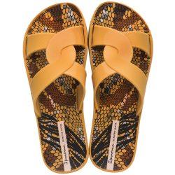 Ipanema Feel Print mustár női papucs