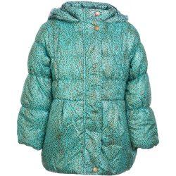 Barnamintás türkiz kabát