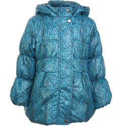 Feketemintás kék kabát