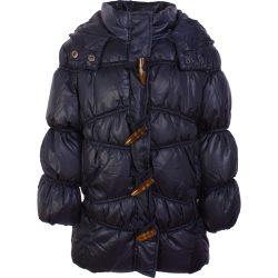 Barnagombos sötétkék kabát