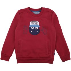 Szörnyes bordó pulóver