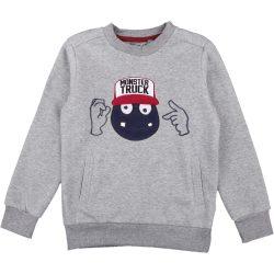 Szörnyes szürke pulóver