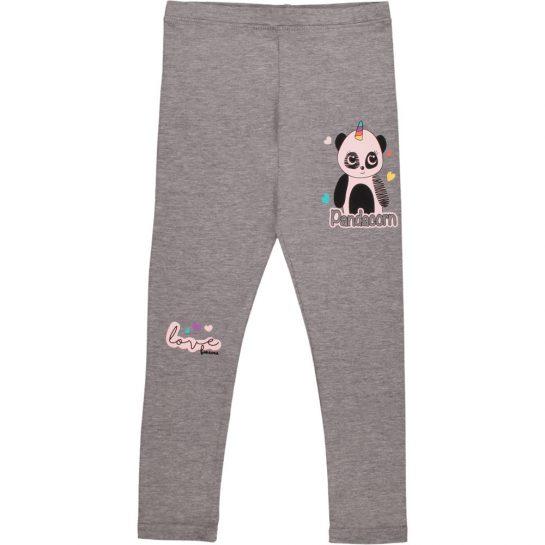 Pandacorn szürke leggings