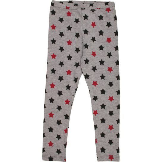 Csillagos szürke leggings