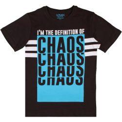Chaos antracit póló
