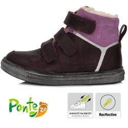 Supinált padlizsán bélelt cipő