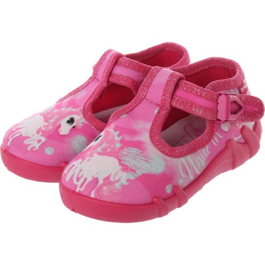 Unikornis pink félcipő