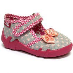 Masnis puncs-csillagos szürke cipő