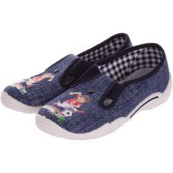 GOAL! farmerkék cipő