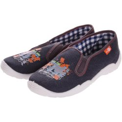 Gördeszkás farmer cipő