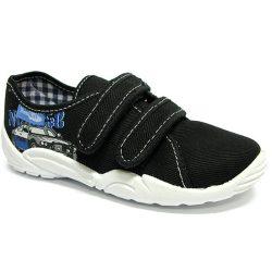Rendőrautós kék cipő