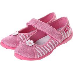 Rózsaszín-csíkos cipő