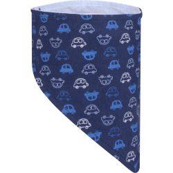 Autós kék sál