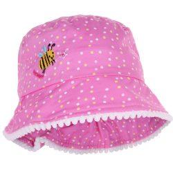 Méhecskés pöttyös kalap