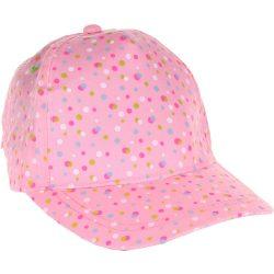 Pöttyös rózsaszín baseball sapka