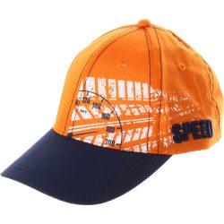 Speed kék-narancs sapka