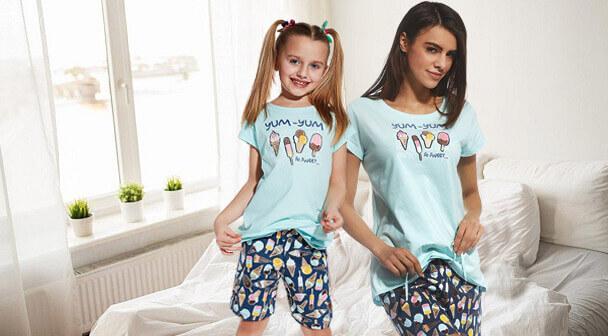 Anya-lánya pizsama