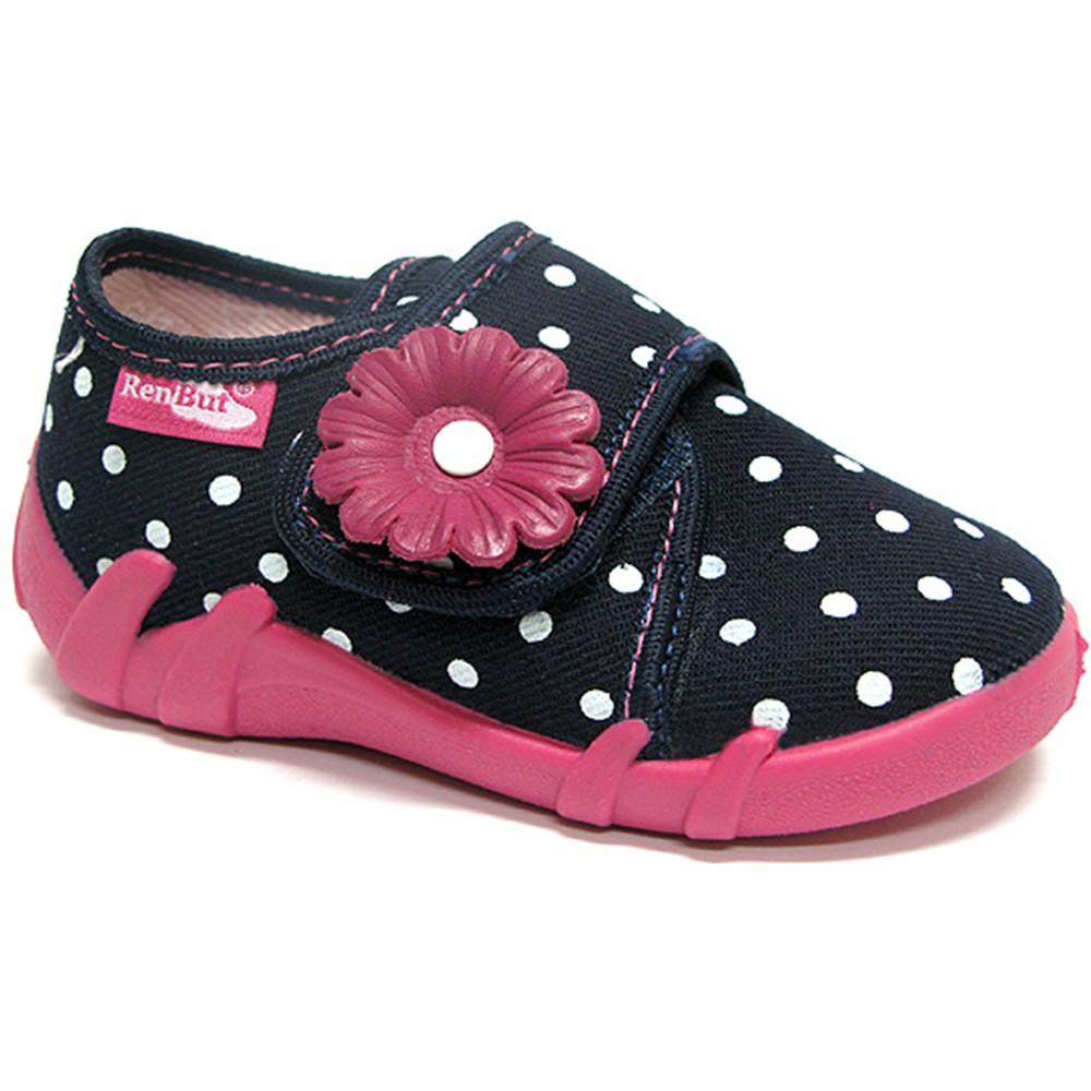 d3d16127bd Margarétás pöttyös sötétkék cipő - Ruhafalva